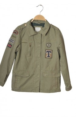 Jacheta verde militar Zara, 9-10 ani