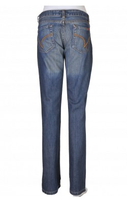 Jeans Blend, tight fit, boot cut, marime 34