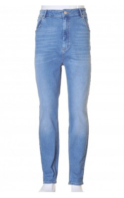 Blugi bleu Asos, talie inalta, skinny leg, marime 36