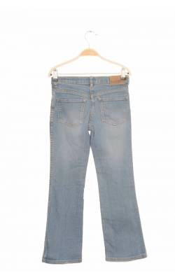 Jeans bleu prespalat H&M L.O.G.G., 10-11 ani