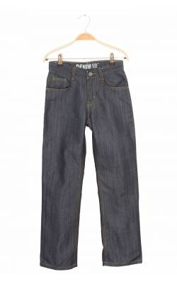 Jeans bleumarin Denim Co, 10-11 ani