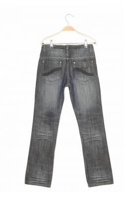 Jeans bleumarin Get Used, talie ajustabila, 10-12 ani