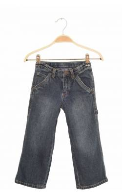 Jeans bleumarin prespalat Cherokee, talie ajustabila, 4 ani
