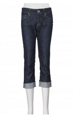 Jeans bleumarin Rifle, talie medie, marime 34