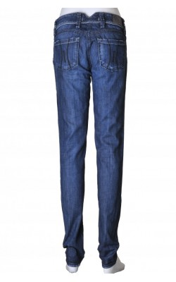 Jeans bleumarin slim leg Fornarina, marime 34
