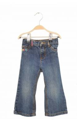 Jeans broderie roz Carter's, 2 ani, max. 13.6 Kg