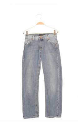 Jeans bumbac Gant, model University, 9-10 ani