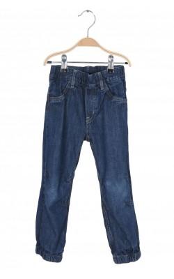 Jeans bumbac H&M, 3-4 ani