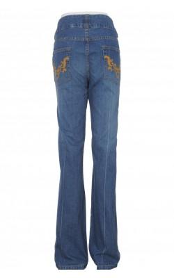 Jeans bumbac wide leg H&M, marime 46