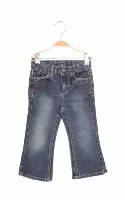 Jeans buzunare brodate Cherokee, talie ajustabila, 24 luni