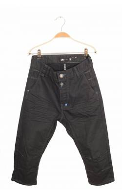 Jeans capri Lab Industries by KappAhl, tur lasat, 12 ani
