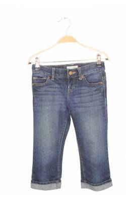 Jeans capri Old Navy, talie ajustabila, 7 ani Regular