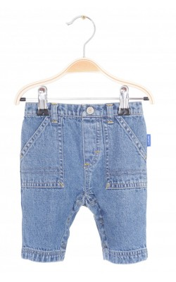 Jeans Carter's, buzunar hipopotam, 0-3 luni
