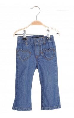 Jeans Carter's, buzunare inima, 12 luni