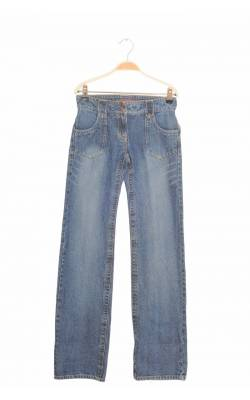 Jeans Check This by Lindex, model drept, talie medie, 12 ani