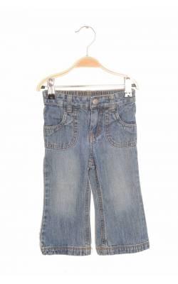 Jeans Cherokee, buzunar cu broderie aurie, 18 luni