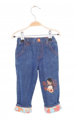 Jeans Disney Jungle Book, talie ajustabila, 3-6 luni