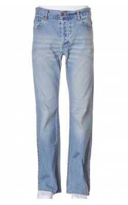 Blugi Divided by H&M, model boot cut, marime 32