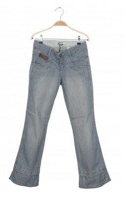 Jeans Donna Karan New York, broderie margele, 14 ani