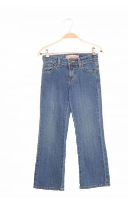 Jeans Faded Glory, stretch boot cut, 7 ani regular