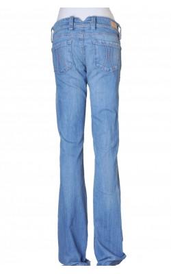 Jeans Fornarina, boot cut, talie joasa, marime 40