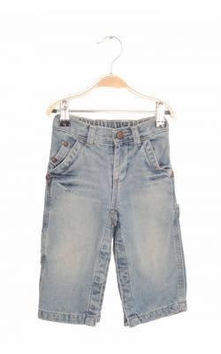 Jeans Gap, captusiti cu bumbac, picioare cu capse, 12-18 luni