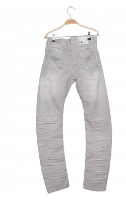 Jeans gri Lab Industries by KappAhl, 13 ani
