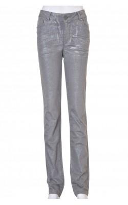 Jeans gri skinny stretch CRO, marime 38