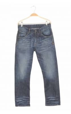 Jeans H&M Relaxed, talie ajustabila, 11-12 ani
