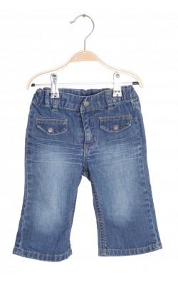 Jeans H&M, talie ajustabila, 6-9 luni