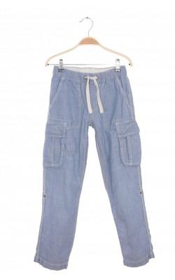 Jeans H&M, lungime ajustabila, 10-11 ani