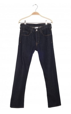 Jeans H&M Slim, talie ajustabila, 10-11 ani