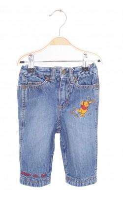 Jeans captusiti H&M Winnie the Pooh, 4-6 luni