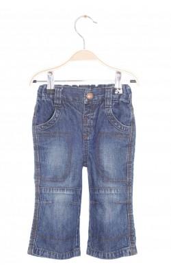 Jeans Kid Kanai, talie reglabila, 12 luni