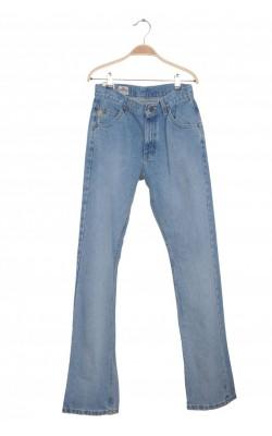 Jeans Lee Dungarees Straight Leg, 12-14 ani