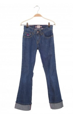 Jeans talie medie Levi's, mansete intoarse, 10 ani