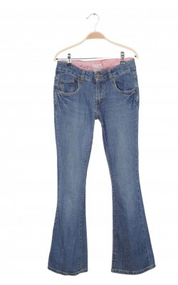 Jeans Levi's 517, stretch flare, 14 ani