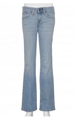 Jeans Levi's 524, super low flare, marime 34/36