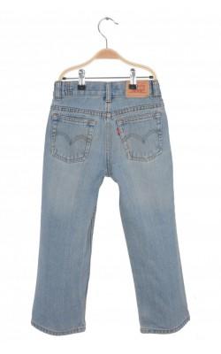 Jeans Levi's 569 Loose Straight, talie ajustabila, 7 ani Regular