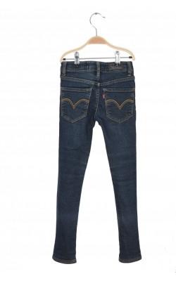Jeans Levi's skinny, talie ajustabila, 8 ani