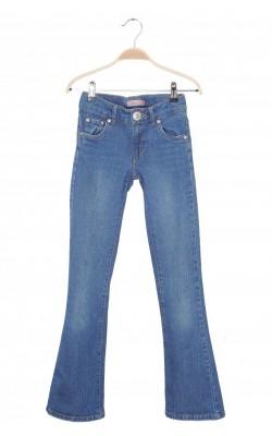 Jeans Levi's stretch, talie ajustabila, 12 ani Slim