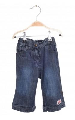 Jeans Little Girls Star, talie ajustabila, 4-6 luni