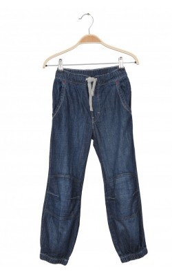 Jeans loose pull-on H&M, 7-8 ani