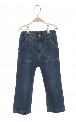 Jeans Mads&Mette, talie reglabila, 2-3 ani