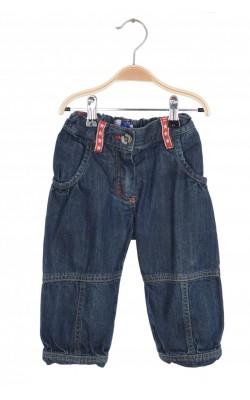 Jeans bleumarin Molo, talie ajustabila, 18 luni