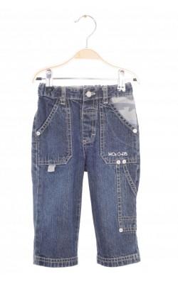 Jeans cargo Name It, talie ajustabila, 6-9 luni