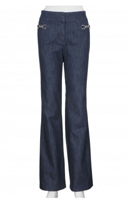 Jeans New York&Company, Wide Leg, talie medie, marime 40