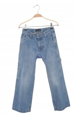 Jeans Old Navy Loose Painter, talie reglabila, 8 ani Regular