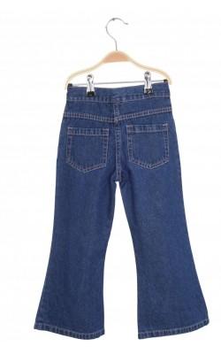 Jeans cusaturi roz Oldi, talie ajustabila, 5-6 ani