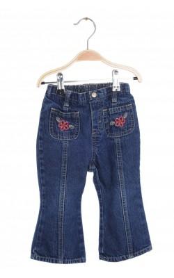 Jeans buzunare brodate OshKosh, 18 luni